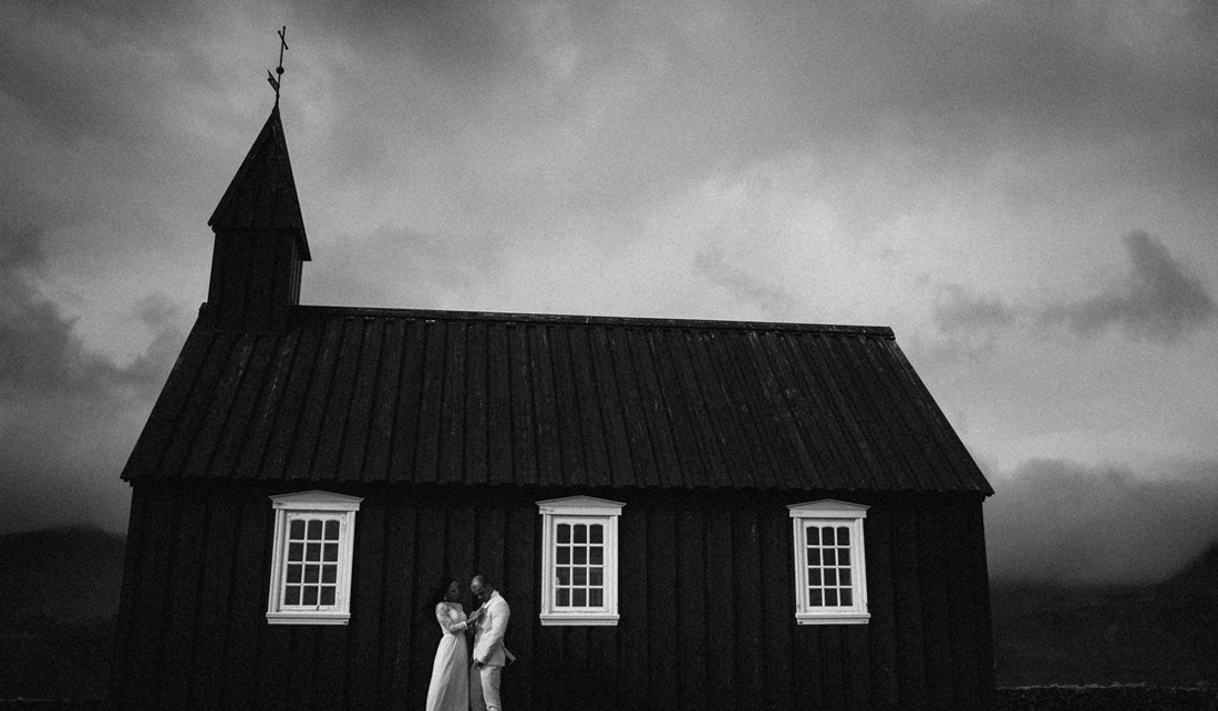 Budir-wedding-Iceland-church-sneak-peek