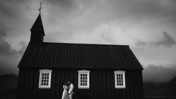 Budir-wedding-Iceland-church-sneak-peek