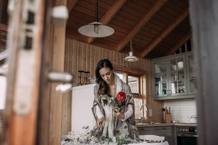 Wedding bouquet Reykjavik