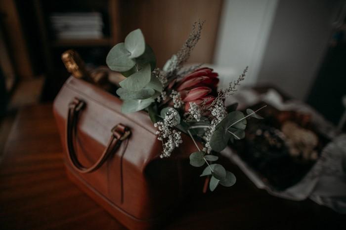 Wedding flowers Iceland