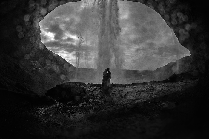 Waterfall-Elopement